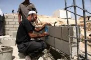 الإحصاء: انخفاض مؤشر أسعار تكاليف البناء في الضفة الغربية خلال نيسان