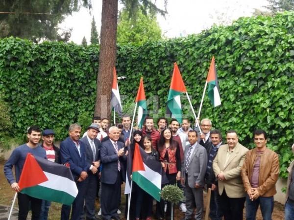 سفارة فلسطين في ألبانيا تحيي ذكرى يوم الارض الخالد