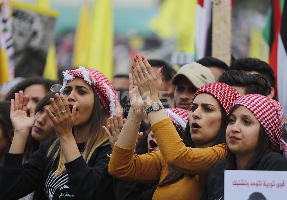 صور: المناظرة الانتخابية للكتل الطلابية في جامعة بيرزيت