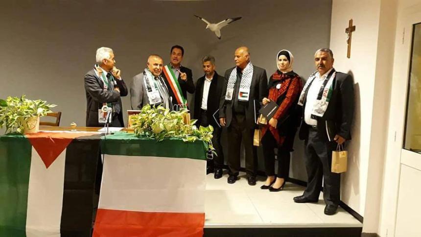 بلدية بيت أولا توقع اتفاقية توأمه مع بلدية روكا فينيالي الإيطالية