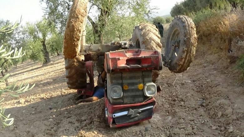 مصرع مواطن جراء إنقلاب جرار زراعي