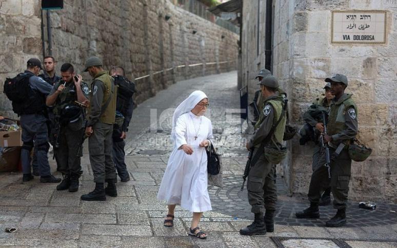 الاحتلال يشدد اجراءاته ويغلق القدس القديمة بحجة الأعياد