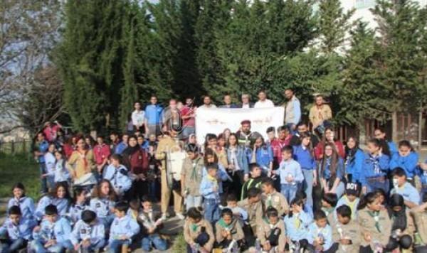 يوم كشفي جمع بين كشّافة لبنان في بلدة الميّة وميّة والكشّافة الفلسطينية