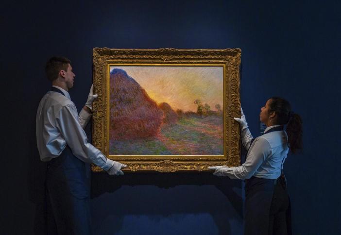 """بيع لوحة لـ """"كلود مونيه"""" بـ 110 مليون دولار"""