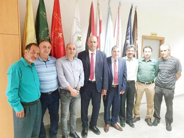 اتحاد كرة الطاولة يحل ضيفا على نادي ارثوذكسي القدس