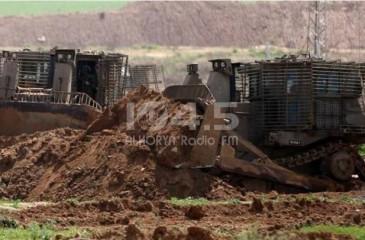 الاحتلال يجرف أراضي غرب بيت لحم