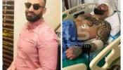 قائد الجيش اللبناني يزور الشاب الفلسطيني البطل صابر مراد