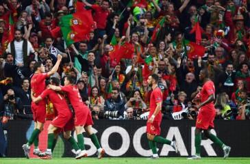 البرتغال تلدغ هولندا بهدف وتتوج بأول نسخة لدوري الأمم الأوروبية