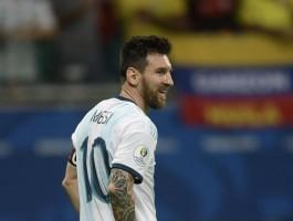 ماذا قال ميسي بعد الهزيمة أمام كولومبيا؟