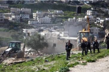 """""""أوتشا"""": الاحتلال هدم وصادر 43 مبنًى فلسطينيًا بأسبوعين"""