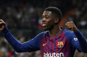 برشلونة يحسم مصير ديمبلي