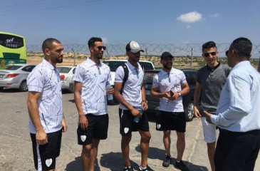 وصول بعثة مركز بلاطة لقطاع غزة