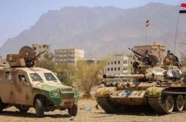 الجيش اليمني يعلن قتله 43 حوثياً في الضالع وصعدة
