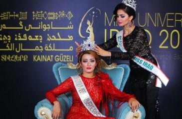 العراق يدرس اسقاط الجنسية عن ملكة الجمال الداعمة للاحتلال الاسرائيلي