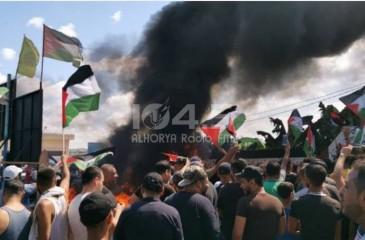 """إضراب شامل بمخيمات فلسطين في لبنان احتجاجًا على """"ملاحقة العمال"""""""