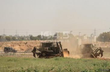 توغل محدود لآليات الاحتلال شرق غزة