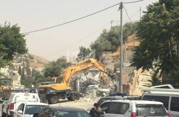 """""""بتسليم"""": الاحتلال هدم 165 منزلا في القدس منذ مطلع 2019"""