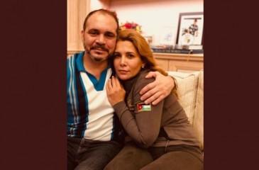 في أول ظهور من لندن.. علي بن الحسين ينشر صورة له مع شقيقته الأميرة هيا