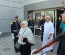حجاج المكرمة السعودية لذوي الشهداء يغادرون غزة