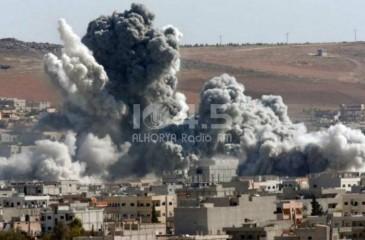 اسرائيل تقصف دمشق- اطلاق صواريخ على الجولان المحتل