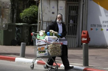 """""""إسرائيل"""" تسجل 60 وفاة و9 آلاف مصاب بكورونا"""