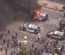 """صور - مدن أميركية """"تشتعل"""" ومواجهات دموية مع الشرطة"""