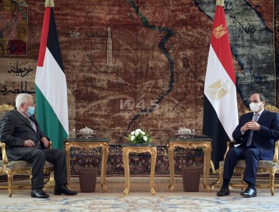 اجتماع قمة بين الرئيس ونظيره المصري