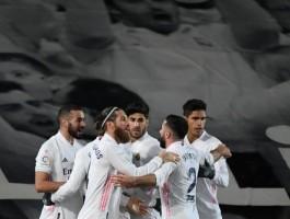 بطولة اسبانيا: ريال مدريد يلحق بسوسييداد واتلتيكو الى الصدارة