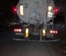إرجاع شاحنة إسرائيلية محملة بنفايات خطرة في طولكرم