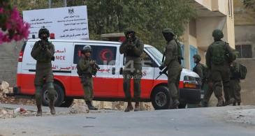 الاحتلال يصيب أربعة شبان ويعتقل اثنين آخرين في جنين