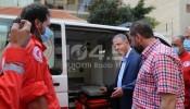 """صندوق """"وقفة عز"""" يتبرع بسيارتي إسعاف لمستشفى الهمشري"""
