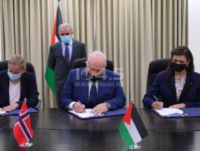 توقيع اتفاقية دعم من النرويج للجهاز المركزي للإحصاء