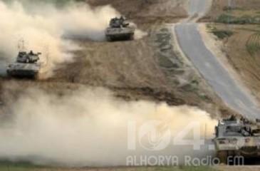 جيش الاحتلال ينفذ مناورات واسعة داخل مزارع شبعا المحتلة