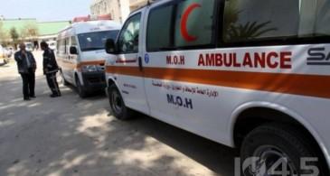 مصرع مواطن بحادث سير على طريق وادي النار شمال بيت لحم