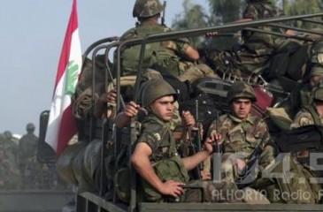 الجيش اللبناني يغلق الطرق المؤدية للسفارة الأمريكية