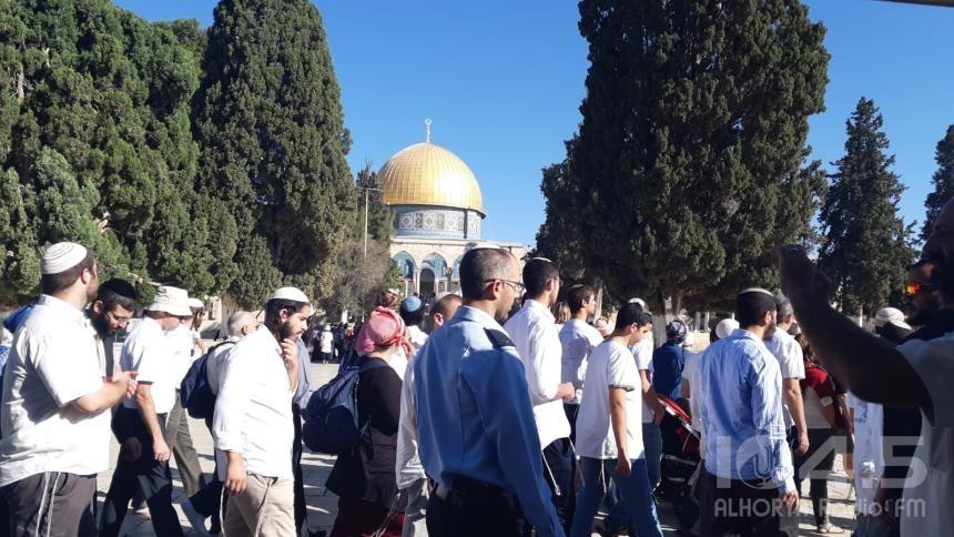 وزير الزراعة الإسرائيلي السابق يقتحم الأقصى برفقة مستوطنين