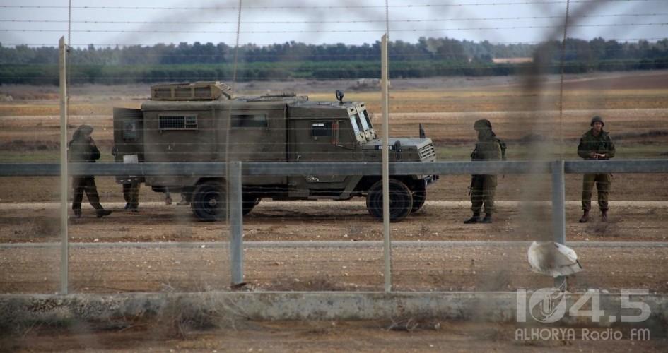 الاحتلال يطلق النار تجاه خيام العودة قرب حدود قطاع غزة